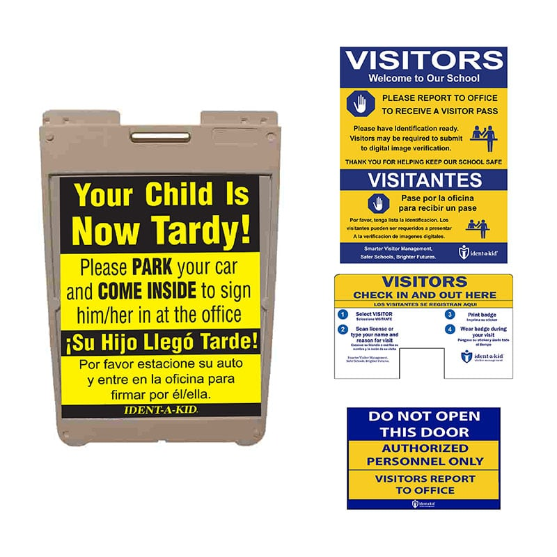 School Sign Package
