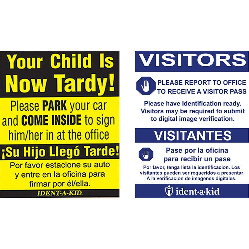 Standard Sign Inserts