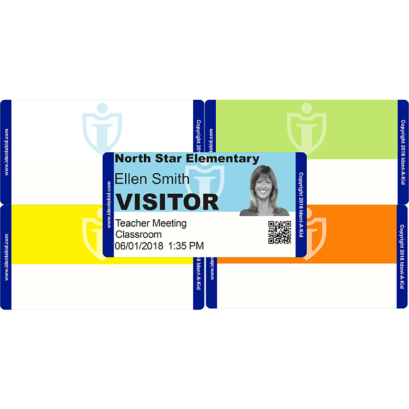 *Ident-A-Kid Visitor Labels