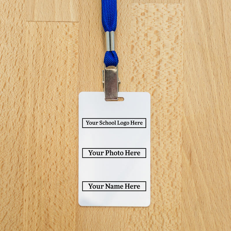Custom Staff RFID Badges w/ Photo and Logo