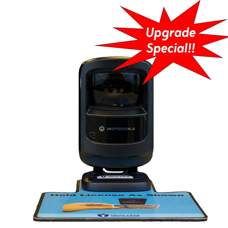 License Scanner with Remote Assistance Setup & 1 Hour Training